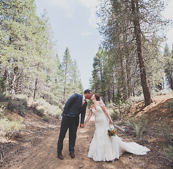 Jason + Eileen Tie the Knot! // Truckee Tahoe Area Wedding