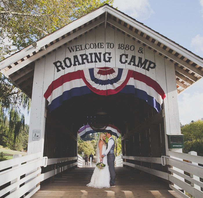 Tyson + Sarah Tie the Knot! // Roaring Camp Felton Wedding