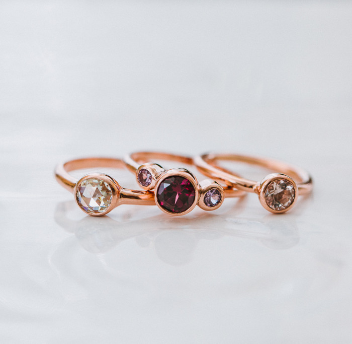 Porter Gulch Designs // San Francisco Fine Jewelry Product Shoot
