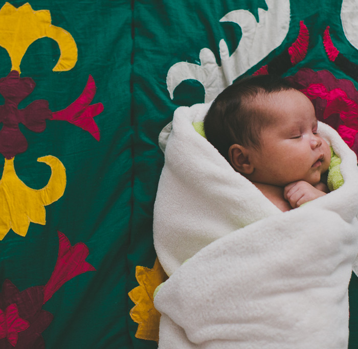 Baby Marie // Santa Cruz Newborn Shoot