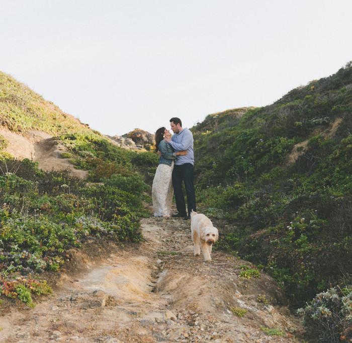 Ryan + Richelle // Pescadero Engagement Shoot