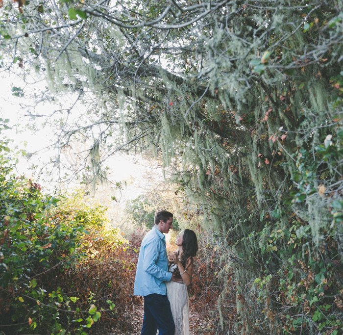 Devin + Christina // Ano Nuevo + Davenport Engagement Shoot