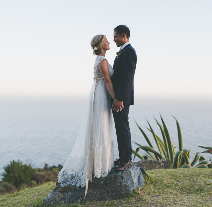 Jared + Marie Tie the Knot // Point 16 Big Sur Wedding