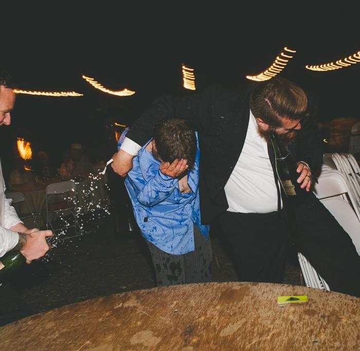 Pat + Emily Tie the Knot // UCSC Arboretum Wedding