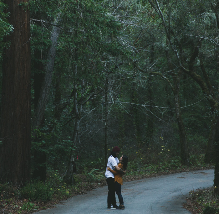 Amber + Tyler // San Gregorio Engagement Session